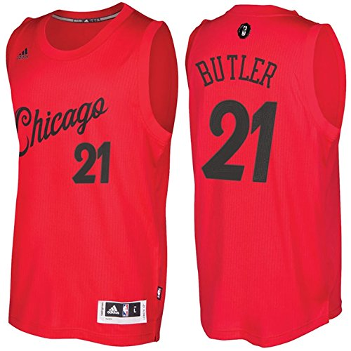 98c593a80 adidas Jimmy Butler Chicago Bulls Christmas Day Swingman Jersey (Red) XL