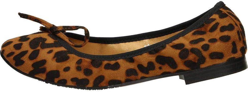 malta Presentador Tener cuidado  FRANCESCO MILANO LEOPARDATO Scarpa Donna Ballerine S011R: Amazon.es:  Zapatos y complementos