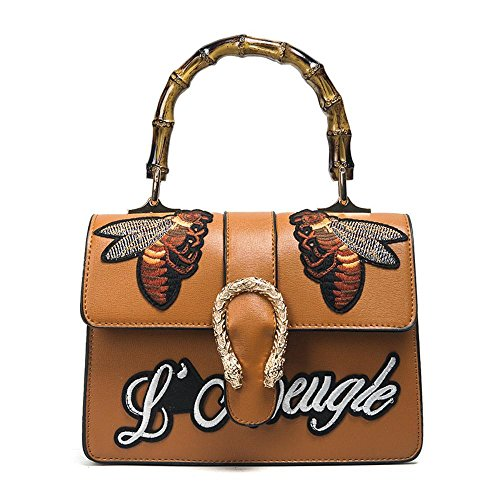 Shoulder Bag Pattern And Cross Large Female Baotan Fashion Embroidery Pure To Bamboo Oblique European Aoligei Hand American Bag qwSt1