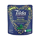 Tilda Pulses & Rice Split Pea, Chilli & Coriander 140g - Pack of 4