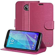 Vena® Google Nexus 6 Case [vSuit] Draw Bench PU Leather Snap Case Cover with [Card Pockets] for Google Nexus 6 (Burgundy Red)