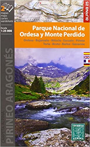 Parque Nacional de Ordesa y Monte Perdido. 2 mapas. Escala 1 ...