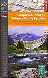 Parque Nacional de Ordesa y Monte Perdido. 2 mapas. Escala 1:25.000. Ordesa, Bujaruelo, Añisclo, Escuáin, Pineta, Torla, Broto, Bielsa, Gavarnie. ... English, Deutsch (CARPETA ALPINA - 1/25.000)