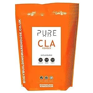 Bodybuilding Warehouse Puro ácido linoléico conjugado / CLA Polvo - 100g