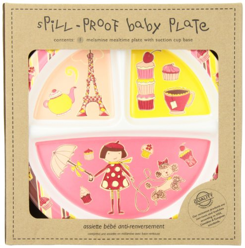 Sugarbooger Divided Suction Plate, Cupcake
