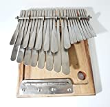 24 Key LARGE Premium v2 Mbira Thumb Piano Kalimba Handmde in Zim. SHIPS from USA by Jona W.