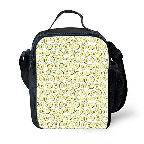 Para 1 Niños Pineapple Bolsa Frutas Aislamiento Small Ligera Avocado De Con Showudesigns Almuerzo 3 w0x4qC88O