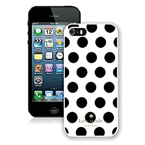 Kate Spade White 008 iPhone 5S Screen Phone Case Custom and Durable Design