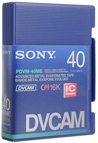 PDVM-40ME 32 Minute DVCAM Mini Videocassette by Sony