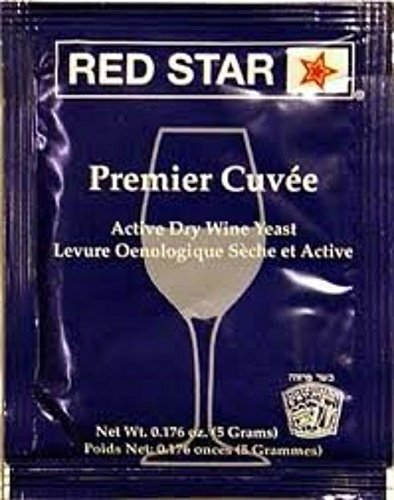 Effervescent Packets Go - Red Star Premier Cuvee Yeast 10 Packets