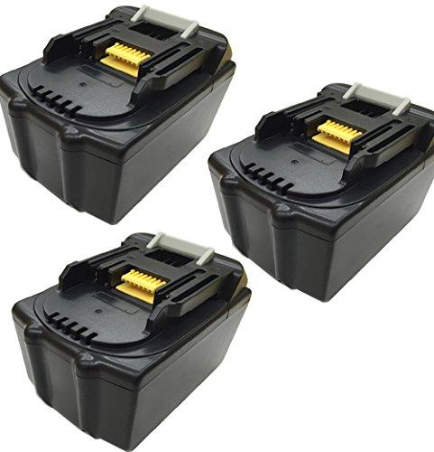 マキタ MAKITA BL1860 3セット 互換バッテリー 18V 6.0AH 6000mAh サムスン社セル搭載 互換 マキタバッテリー B01LZWVWHV