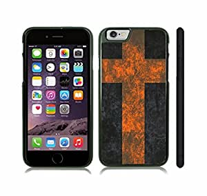 iStar Cases? iPhone 6 Case with Sweden Flag Distressed Grunge Look Design , Snap-on Cover, Hard Carrying Case (Black)