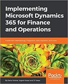 Amazon com: Implementing Microsoft Dynamics 365 for Finance