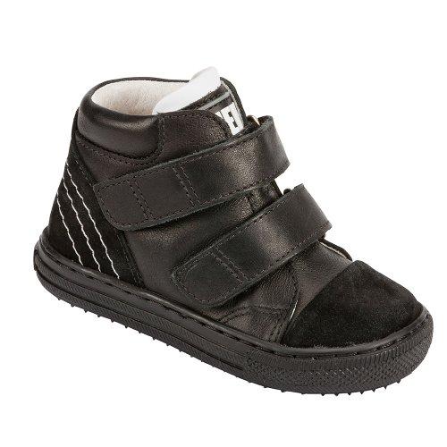 Piedro , Jungen Stiefel, Schwarz - schwarz - Größe: 29 Extra Wide