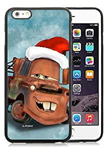 2014 Latest iPhone 6 Plus Case,Christmas Mater Black iPhone 6 Plus 5.5 TPU Case 1