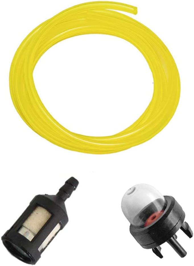 Air Fuel Filter Ignition Bulb Replace For Mcculloch 3200 MS1432 MS1435 MS1635NAV