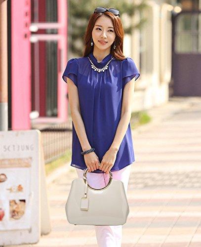 Fashion blanc Bag Shoulder Atmosphérique Mouchoir Personnalité Sauvage XCF Nuptiale Messenger Femmes Mariage Handbag WLQ Bags Trend IUwZ1A