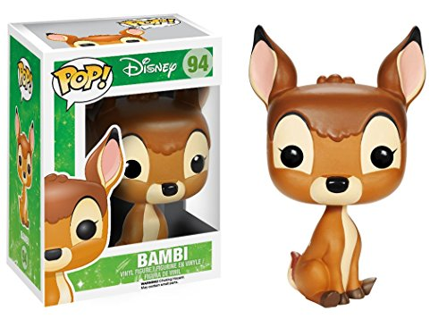 Funko - Bobugt096 - Cine estatuilla - Bambi - Bobble Head Pop