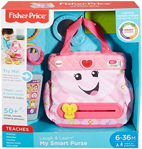 Amazon.com: Fisher-Price Laugh & Learn My Smart Monedero ...