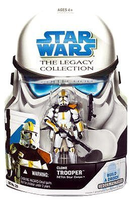 Wars Figures Clone Star Wars (Star Wars Clone Wars Legacy Collection Build-A-Droid Factory Action Figure BD No. 29 327th Star Corps Clone Trooper)