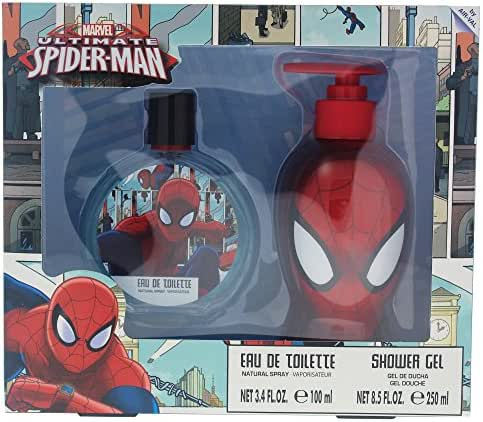 Marvel Ultimate Spider Man for Kids 2 Piece Gift Set