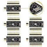 Emakefun for Arduino Nano V3.0, Micro USB Nano Board ATmega328P 5V 16M Micro-Controller Board (5PCS)