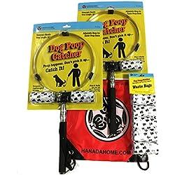 Hanada Home 58-7721 Dog Poop Catcher 4 Piece Combo Kit, One Size