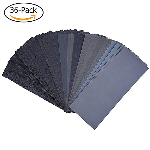 400 to 3000 Assorted Grit Sandpaper for Wood Furniture Finishing, Metal Sanding (400 Metal Furniture)