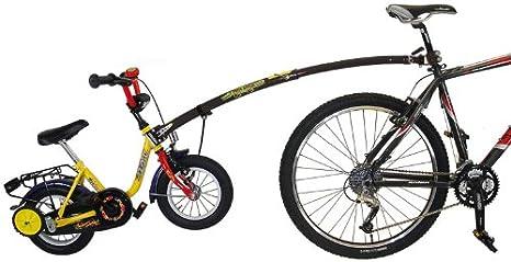 New Black Trail Gator Bicycle Tow Bar: Amazon.es: Deportes y aire ...