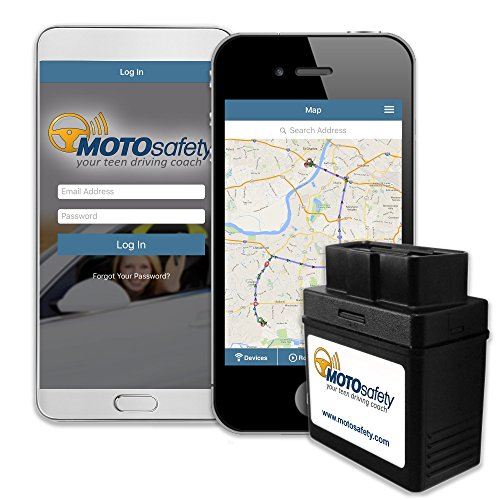 3. MOTOsafety Tracker Device with 3G GPS Service Locator, Teen Driving Coach & Vehicle Monitoring System