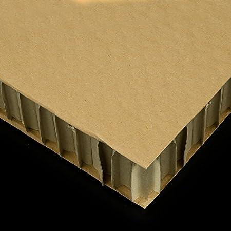 Carton Nido de Abeja Plancha Din A3 Medidas 29, 7cm x 42cm Grueso 15mm Color marron Servicio Estación S.A
