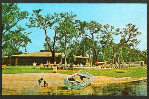 Community Center Silver Springs Shores Fl Postcard 1960S