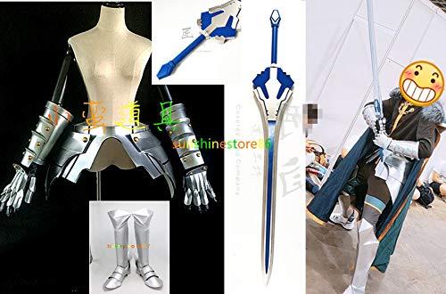 コスプレ衣装 Fate/Grand Order フェイトグランドオーダー FGO ガウェイン+腰鎧+マント+手甲+靴+腿甲+ 剣