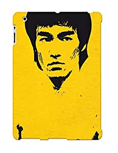 Hot Style HBYzyhn2420rlHkl Protective Case Cover For Ipad2/3/4(bruce Lee) For Thanksgiving Day's Gift
