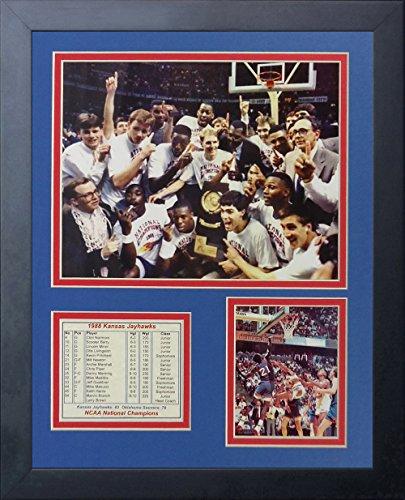 Legends Never Die 1988 Kansas Jayhawks Collage Photo Frame, 11