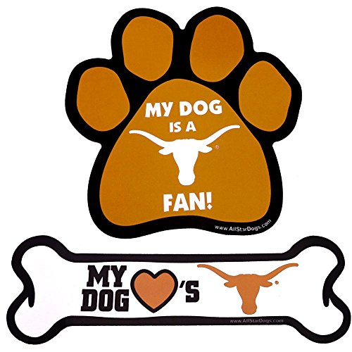Texas Longhorns Paw or Bone Magnet Paw Review