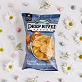 Deep River Snacks Sweet Maui Onion Kettle Cooked Potato Chips, 5-Ounce (Pack of 12)