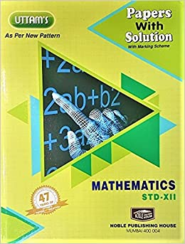 Mathematics Std  12th - Uttam Paper Solutions for 2019: Amazon in
