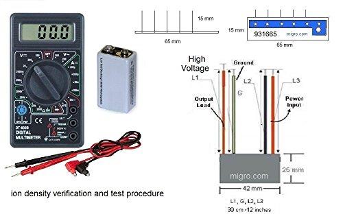Negative ion Generator 7.5Kv, input 120V - 115 Volt Input 12vdc Output Shopping Results