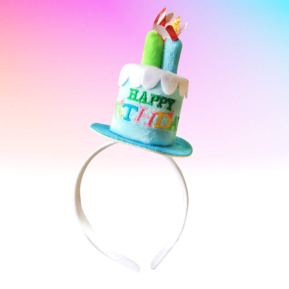 Amazon.com: Amosfun Birthday Party Hats Happy Birthday Cake ...