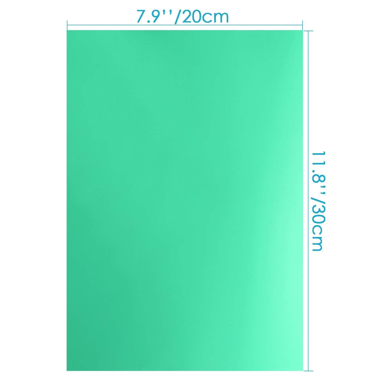 4PC Correction Gel Filter Overlays Transparency Color Sheets Gel Lighting Filter