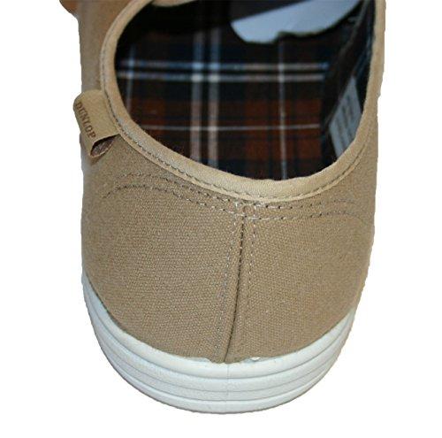 Dunlop . - Zapatillas de Lona para hombre Beige