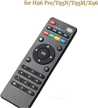 Mando a Distancia para H96 Pro Plus/X96/X96Mini/Tx3 Mini/T95M Android Smart TV Box: Amazon.es: Electrónica