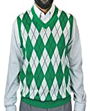 Blue Ocean Big Men Argyle Jacquard Sweater Vest-4X-Large