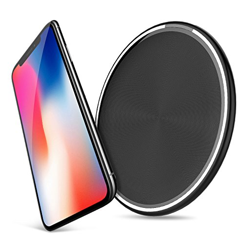 lowest price 6ac08 1561e Best Amazon Deal | Wireless Charging Pad, Wireless Charger Plate Qi ...