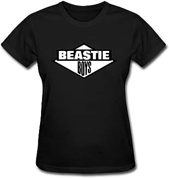 Duanfu Beastie Boys Logo Women's Cotton Short Sleeve T-Shirt