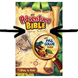 img - for Personalized Bible Custom Text Your Name NIV Adventure Bible for Kids Hardcover Full Color New International Version Custom Made Gift for Baptism Christenings Birthdays Celebrations book / textbook / text book