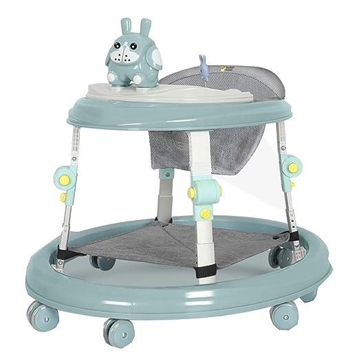 YUMEIGE Walkers - Andador Plegable para bebés y niñas, con Marco ...