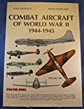 Combat Aircraft of WWII, 1944, Enzo Angelucci, 0517568470