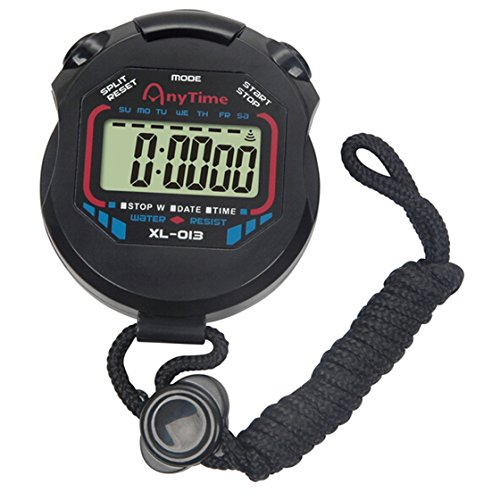 TraveT Digital Stopwatch Display Buttons
